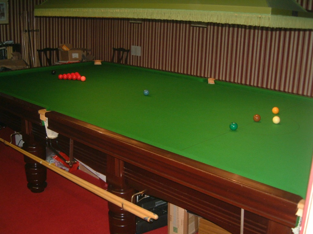 ENBILD FULL SIZE SNOOKER TABLE FOR SALE GCL Billiards - How big is a full size pool table