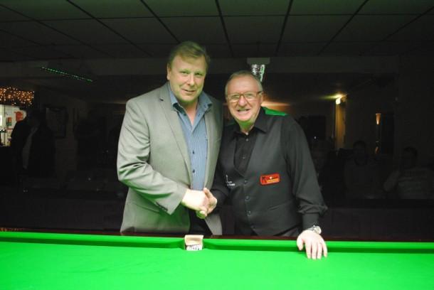 Dennis taylor with Geoff 2