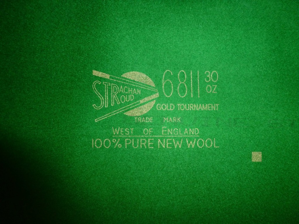 Strachan 6811 Tournament Snooker cloth now available in 3 grades of weight  for GCL Billiards Re-covering . | GCL Billiards