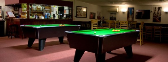 twin pool tables