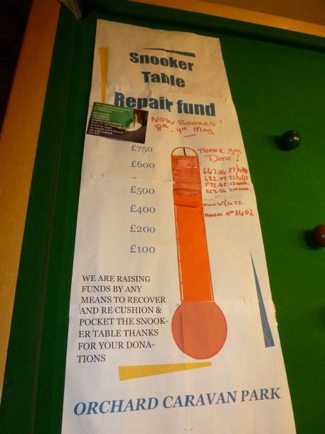 Caravan park Fund raiser