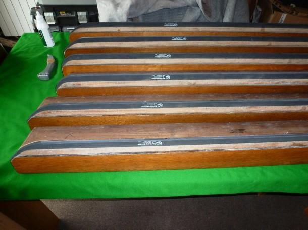 Oak 9ft re-rubber woodhall spa