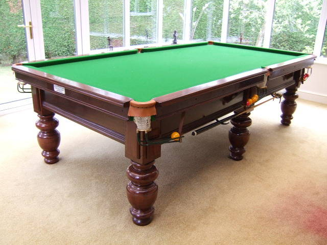 9ft John Gent 3 4 Size Snooker Table Now Sold Gcl