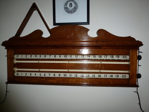 oak 9ft viceroy matching roller scoreboard