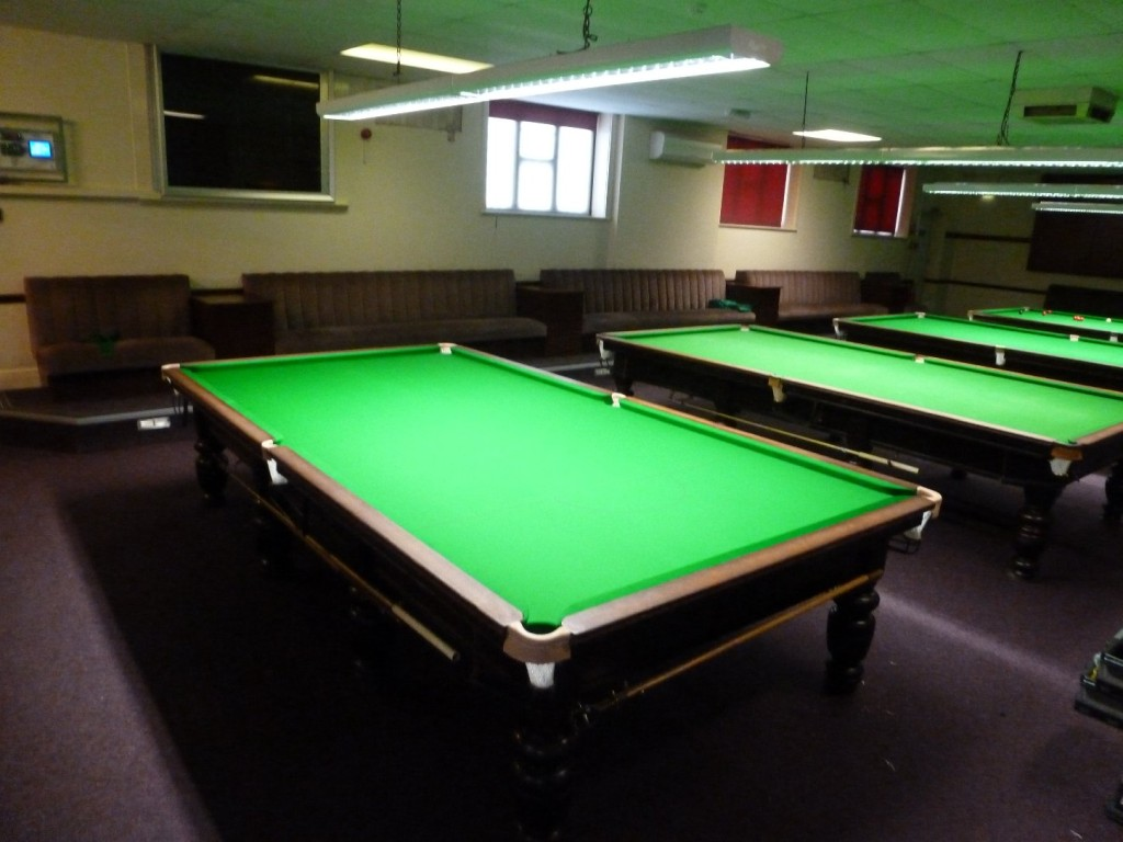 Table 1 Refurbished At The Nottingham Snooker Academy Gcl