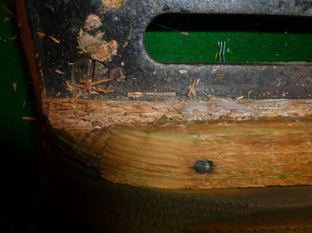 Beeston C crumbling block wood