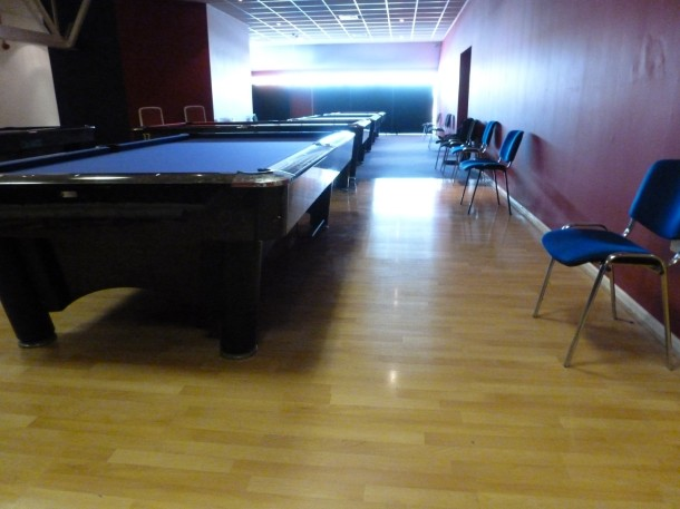Genesis finished  6 all in line pool tables