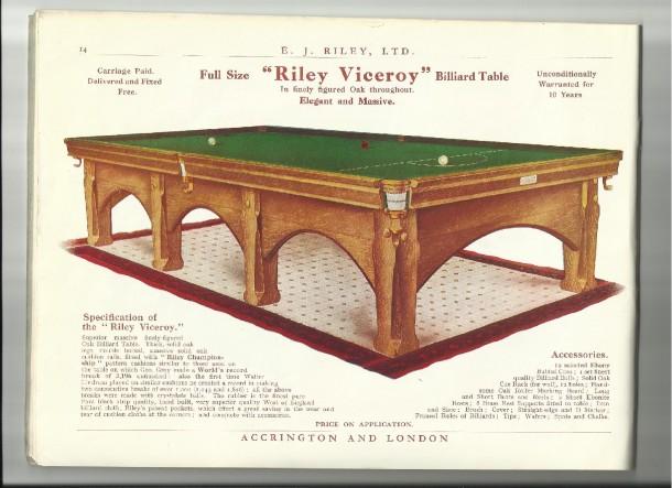 Riley Viceroy 1937-38 Catalogue