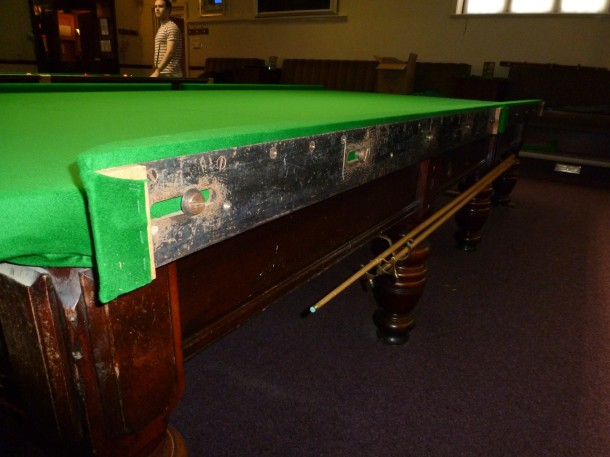 Steel blcoks fitted to table 2 acadamy