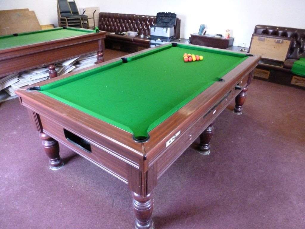 Huck Riely 8ft Finished Marked For Snooker