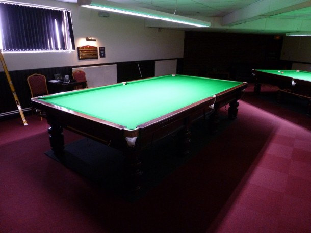 northampton 2nd table finished