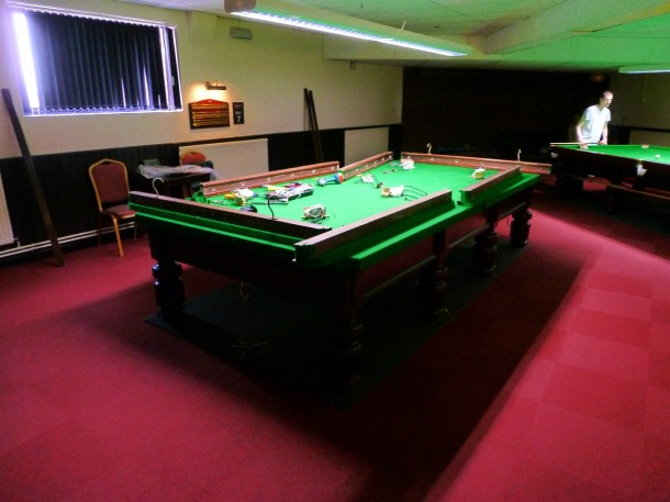 northampton 2nd table strip down