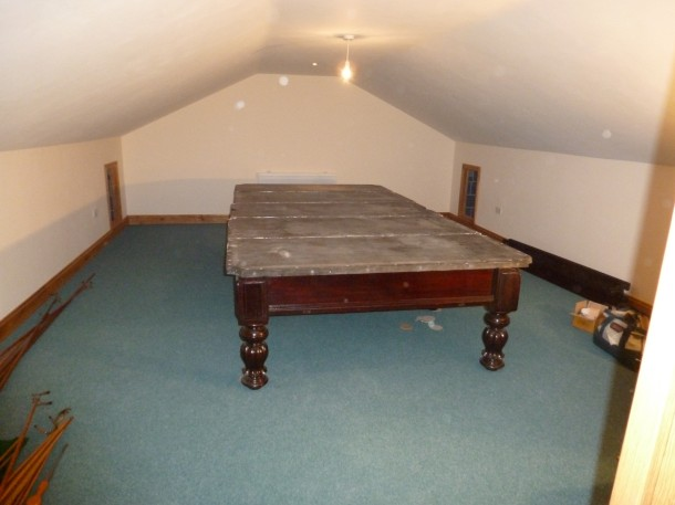 Barnsley table in attic stevens and sons plus B&Watts cushions