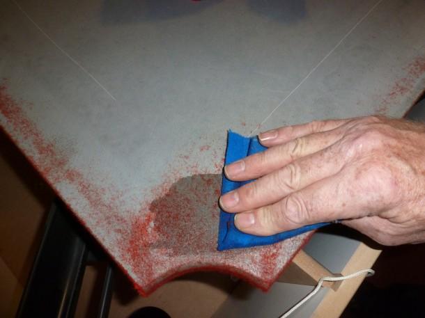 winners stabbo removeing glue acetone