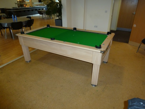 derby county acamy table waiting for new cushions