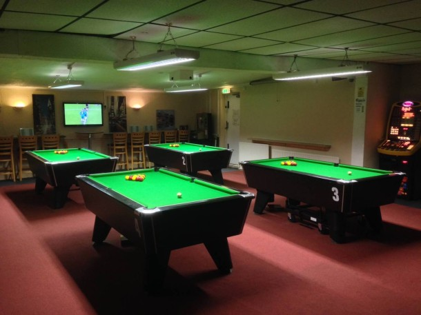 stapleford cue new pool area
