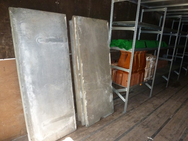 stevens mr cook table inside storage container
