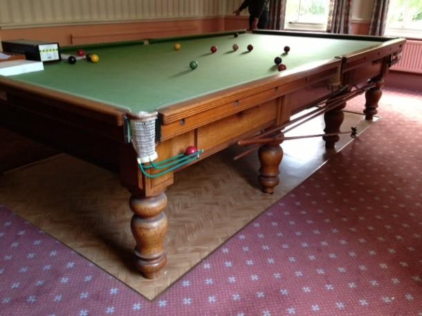 thurston oak table