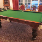 7ft dining table bingham top off