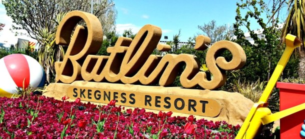Butlins skegness sign