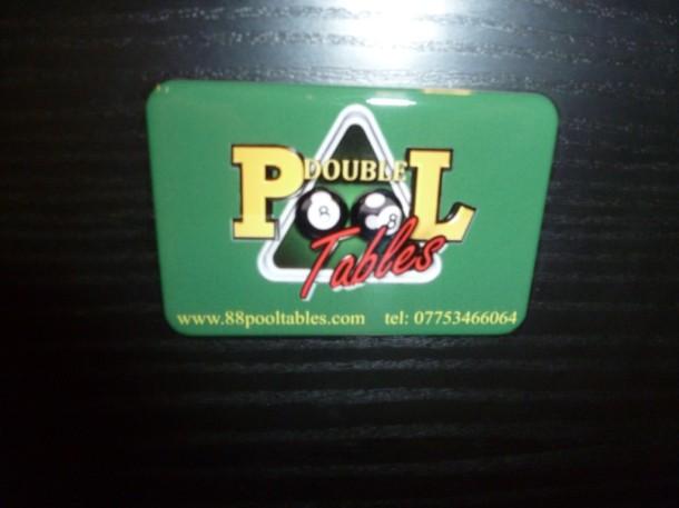 Double 8 badge