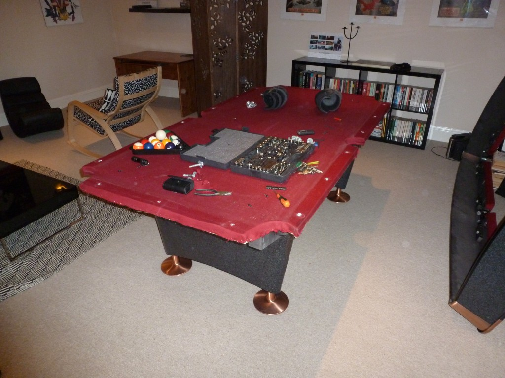 Removal Company Use GCL Billiards To Dismantle American Pool Table - American pool table company