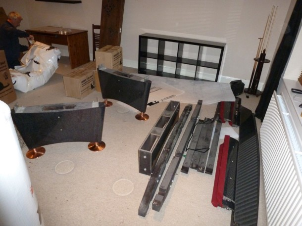 Titan dismantle table down in parts