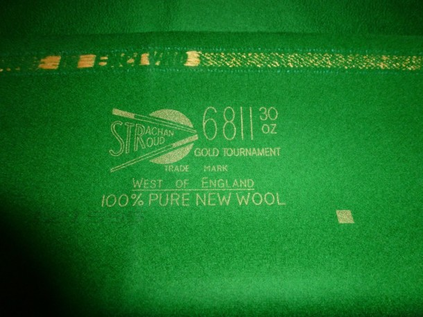 WBL new cloth 6811 gold tournament 30 oz