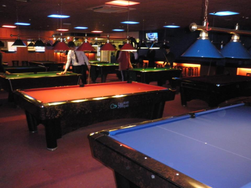 GCL Billiards get Repeat Re-cover work on 7 Supreme Pool ...