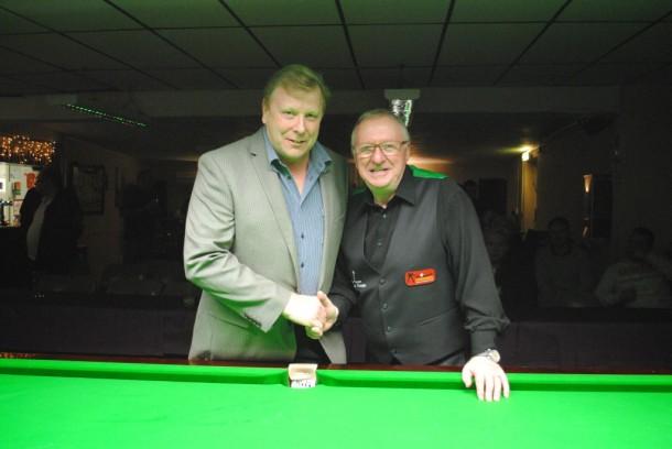 Dennis Taylor with Geoff