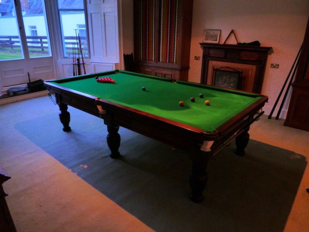 For sale 9ft burroughs and watts snooker table for 12 foot snooker table for sale