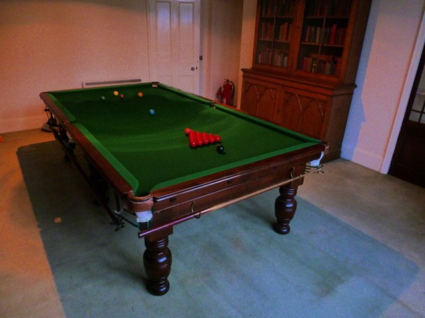 Scotland Taymouth house billiard table
