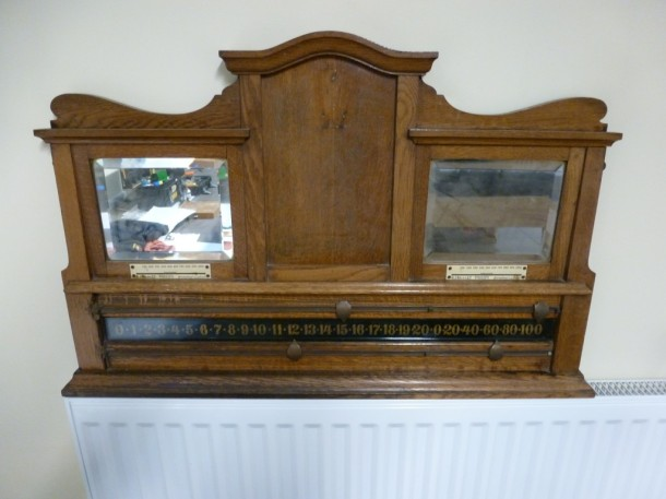 kirkham old riley mirror scoren=board oak