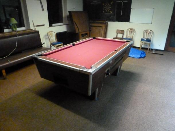 kirkhallam pool table after burgundy