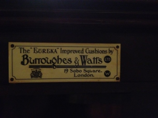 cheshire B&Watts re-rubber plate eureka
