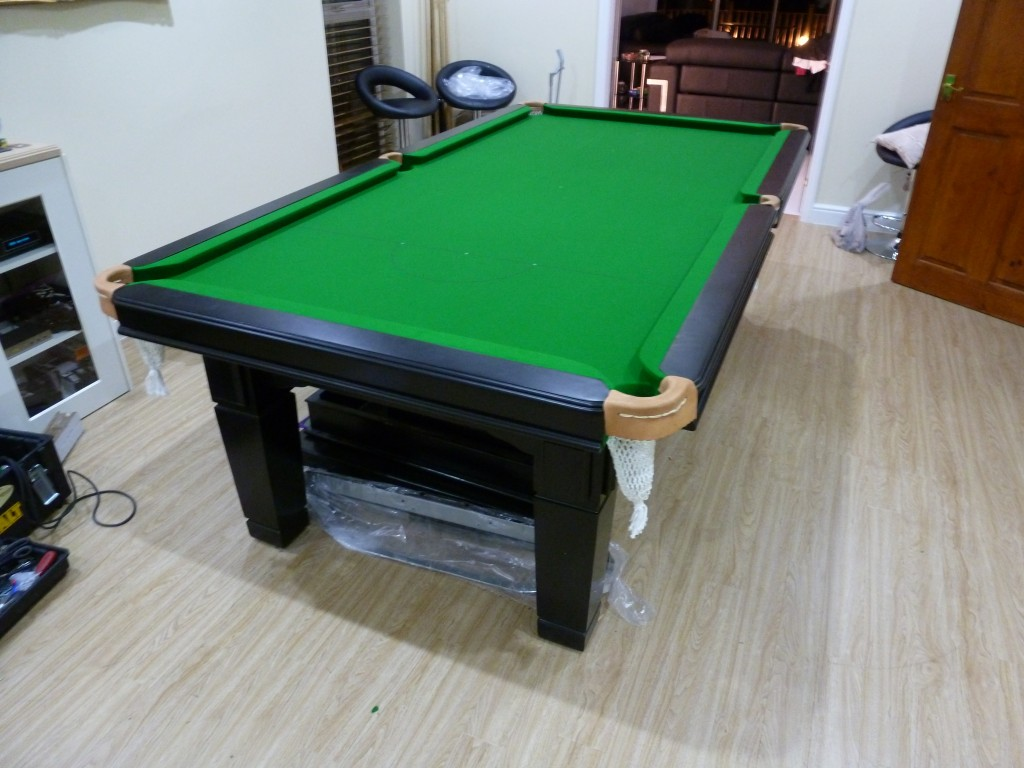 Fixed Height Subframe Fitted To Poor Designed Dual Lifting Snooker - Lifting a pool table