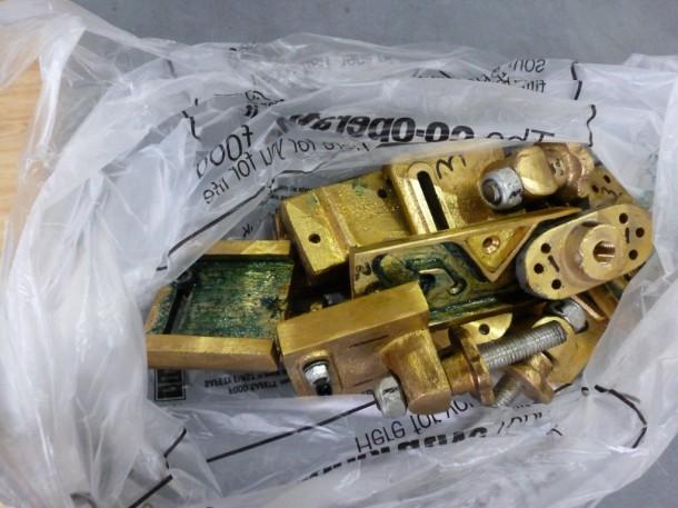 subframe old brass diner adjusters