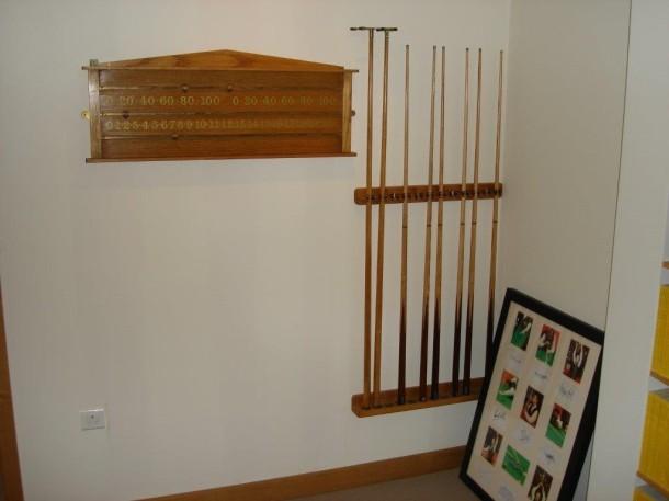 igor oak viceroy scoreboard and rack