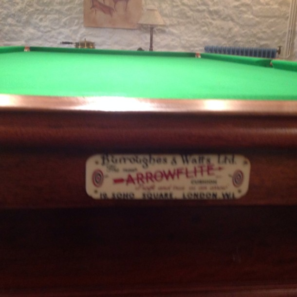 john b&watts 9ft badge arrowflite