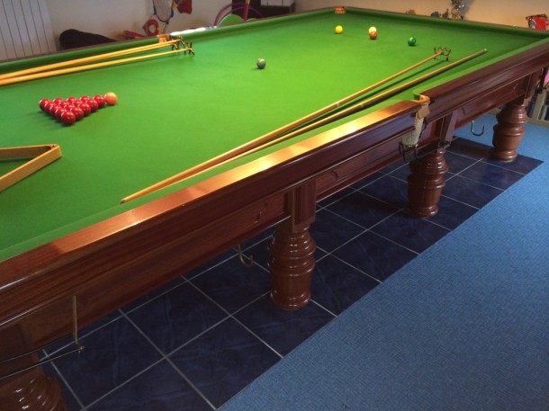 Allied billiards full size for sale Scotland top shot