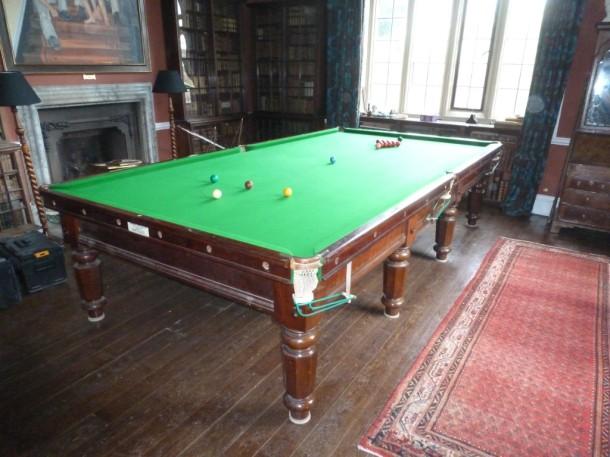 Doddington hall finished table