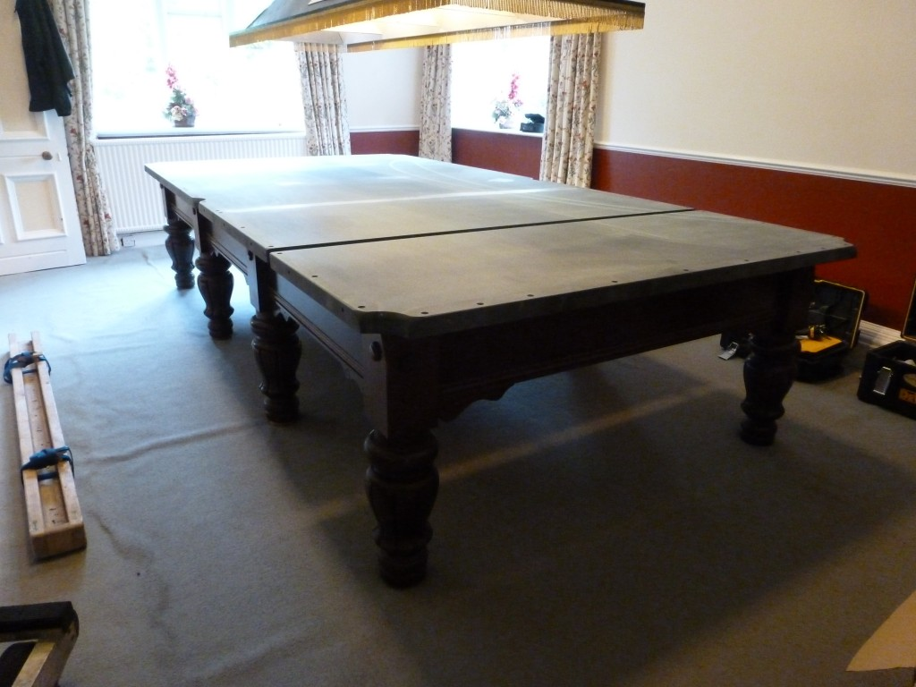 Snooker Table Dismantle Near Peterborough And Brought Into Storage - Dismantle pool table