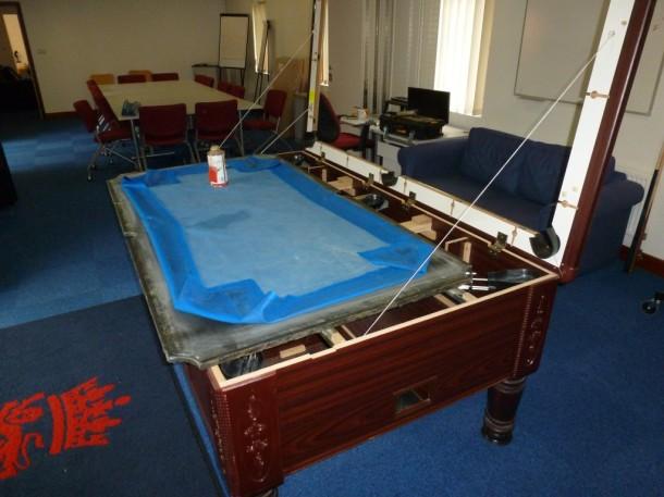 cricket bed glued
