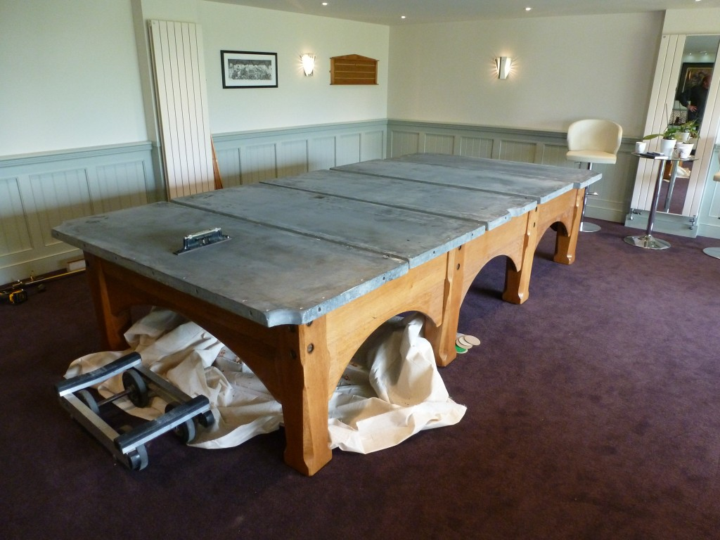 Snooker Table Dismantle And Move A Complete Professional Service By - How to disassemble a pool table