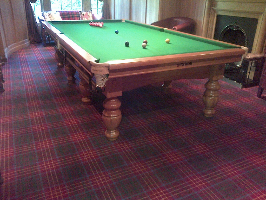 modern oak 10ft aristocrat type snooker table for sale