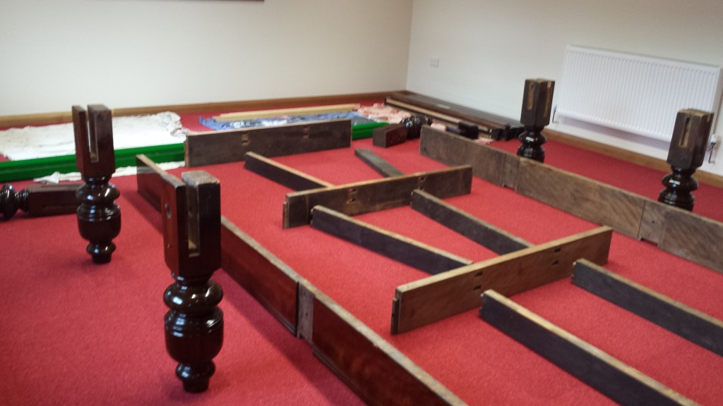 Snooker Table Dismantle And Transport Relocation Use GCL Billiards - Professional pool table installers