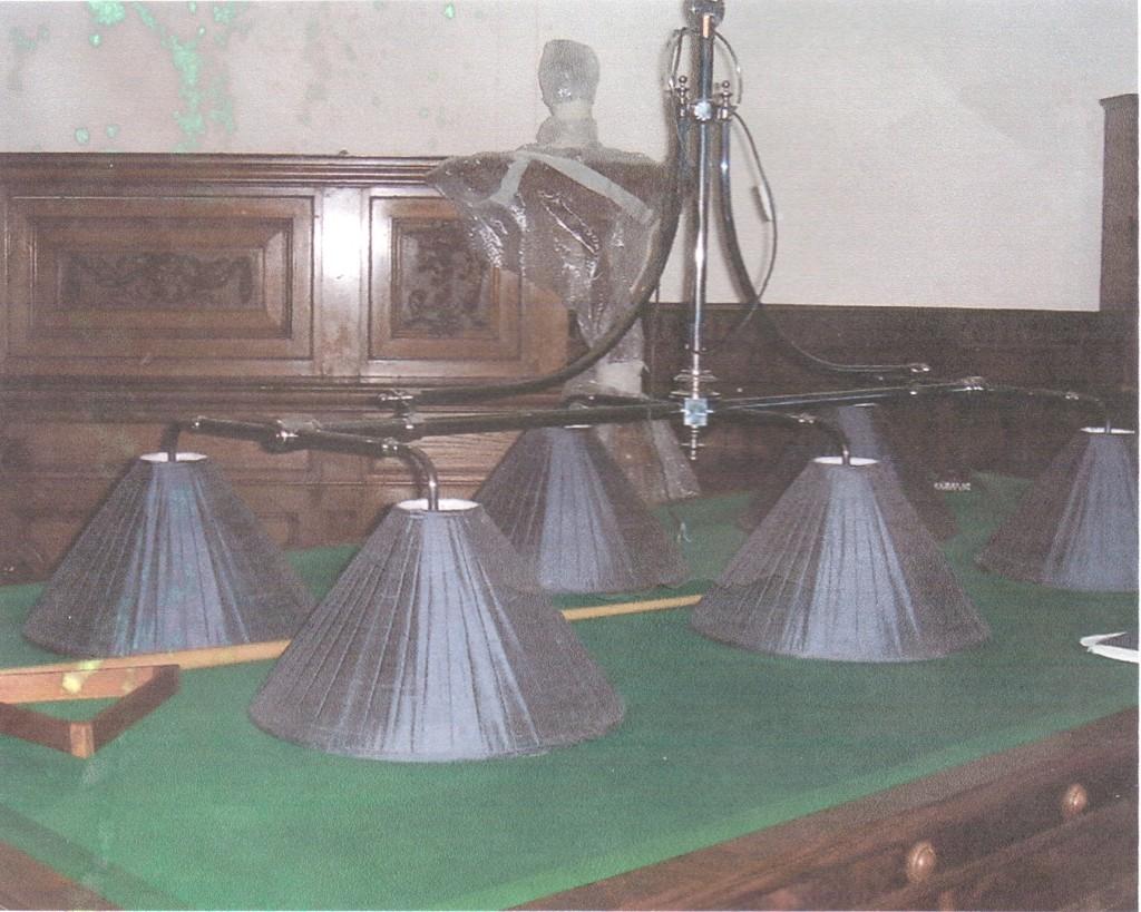 for sale large brass snooker billiard ornate type lighting in form. Black Bedroom Furniture Sets. Home Design Ideas