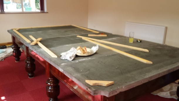 mark parry slates on and linings ready