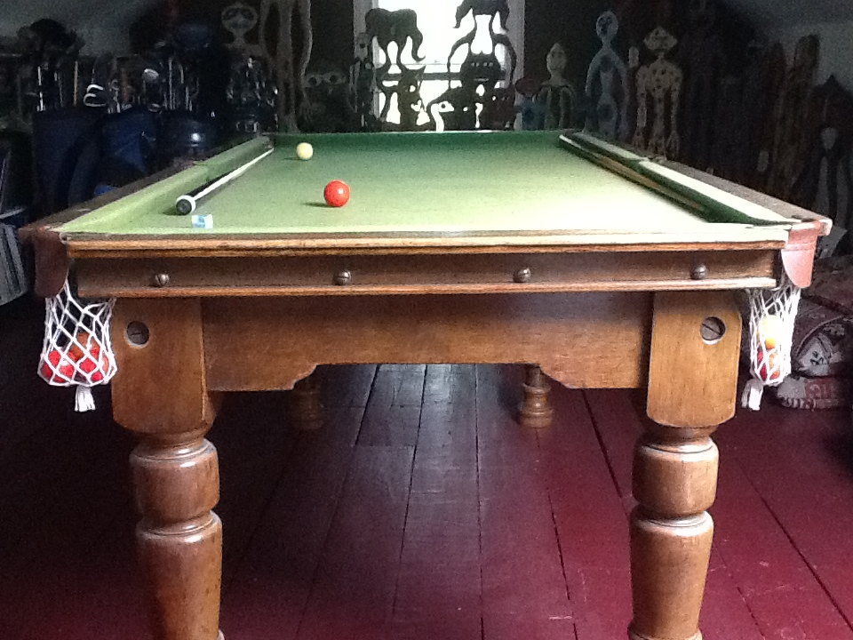 Antique 6 3 Foot Snooker Table For Very Good Build Quality Gcl Billiards - How To Mark A 6ft Pool Table