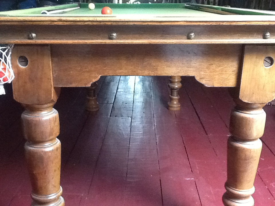 Antique 6 3 Foot Snooker Table For Very Good Build Quality Gcl Billiards - How To Mark A 6 Foot Pool Table
